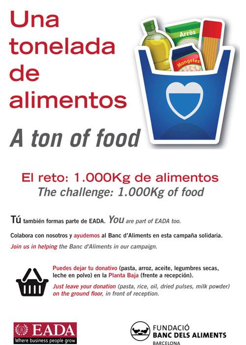 Recogida de alimentos Banc dels Aliments