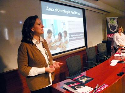 Gloria Garcia, Àrea Oncologia Pediàtrica Sant Joan de Déu