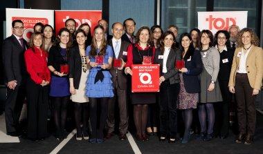 Finalistas del HR Excellence Award 2012