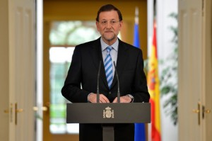 Mariano Rajoy. Rescate Banca Española