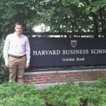 Jordi Díaz en Harvard Business School