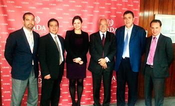 Ricardo Valenzuela, Viriadiana Ávarez, Xéronimo Varadux, David Parcerisas, Miquel Espinosa y Pau Roig