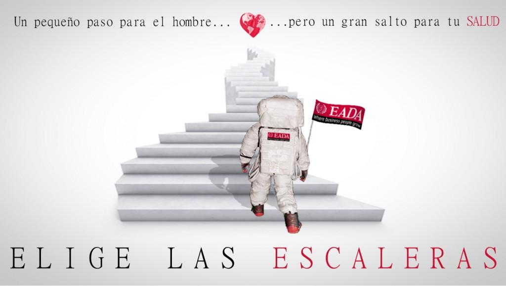 Elige las escaleras - Campaña Salud EADA