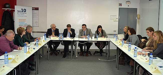 Mesa Cuadrada Pacto Mundial en EADA