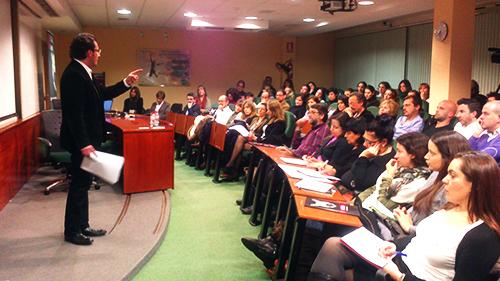 Conferencia de David Escamilla en EADA