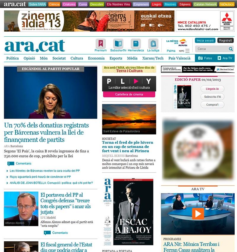 Diario Ara - web