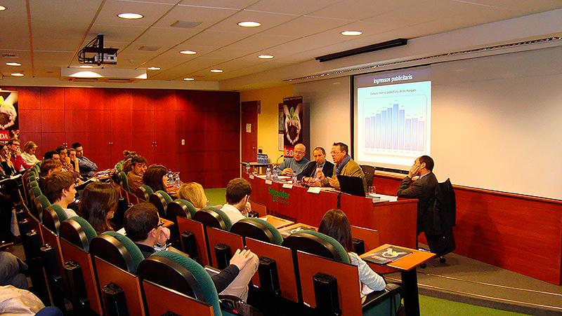 Mesa redonda en EADA. Nuevo entorno de los Medios de comunicación