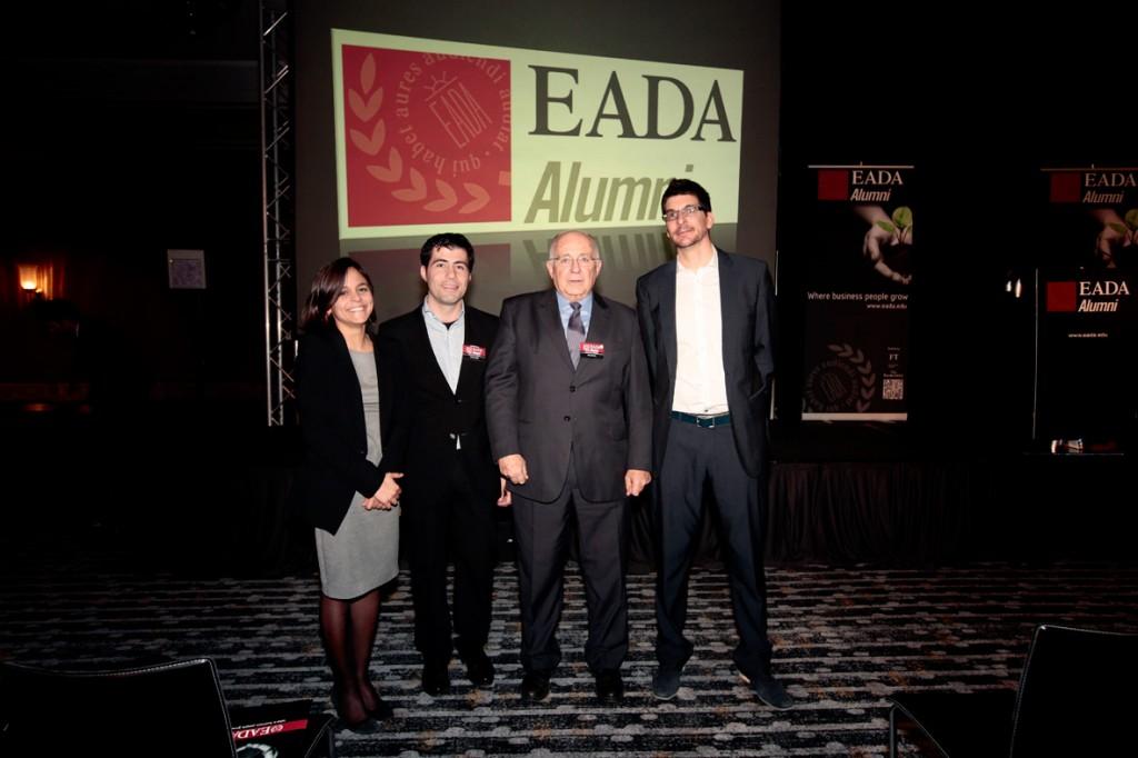 María Llaverías, Ferran Núñez, Manuel Marín y Alexander Osterwalder en el Executive Meeting 2013