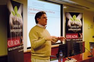 Conferencia Peter Cohan en EADA (2013)