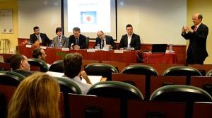 Jan Jonckheere, profesor asociado de EADA y colaborador en varias empresas en temas de exportación, moderó la conferencia.