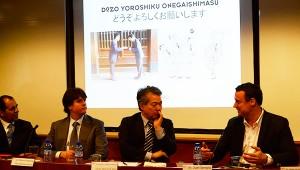 En la conferencia también se habló de tradiciones culturales que hay que respetar a la hora de exportar a Japón, como las reverencias y los saludos.