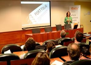 Maite Moreno definió en EADA las características del perfil del freelancer y explicó las nuevas formas de trabajar que están emergiendo actualmente.