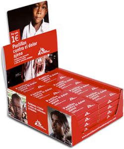 Uno de los factores del éxito inicial de la campaña fue la colaboración de varios agentes implicados, como las farmacias, donde se vendían las cajitas de pastillas. (FOTO: MSF)
