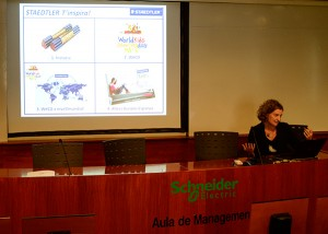 Mari Pau Garreta, directora de Marketing de Staedtler Iberia, comentó la iniciativa