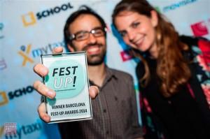 Uno de los ganadores de la anterior edición de Fest-up celebrada en mayo en el World Mobile Centre. (FOTO: Barcinno)