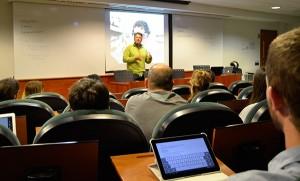 Koke González, experto en marketing online, explicó en EADA cómo aplicar las técnicas del neuromarketing en una web para aumentar las ventas y el porcentaje de visitas.