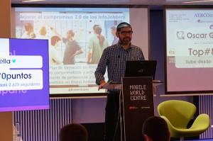Erasmo López, Social Media strategist en Infojobs.net, incidió en generar empatía con sus usuarios a través de las redes sociales.