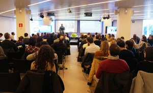 Erasmo López, Social Media strategist en Infojobs.net, explicó la estrategia que sigue el portal de empleo en las redes sociales.
