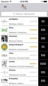 El proyecto de Diego contempló desde un principio la opción de la aplicación móvil para efectuar las reservas de una manera más rápida y cómoda.
