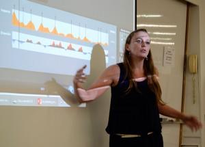 Maria López, socia fundadora y CEO en BitBrain Technologies, habló de neuromarketing en el punto de venta a partir de un estudio que realizó para L'Oréal.