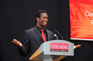 This picture is from the EADA closing ceremony master programs in 2012.