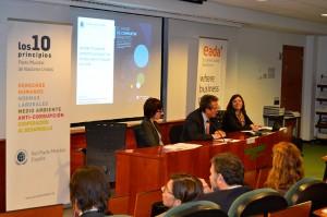 EADA acogió a finales de febrero la presentación del estudio 'El valor de compartir principios', liderado por la Dra. Elisabet Garriga.