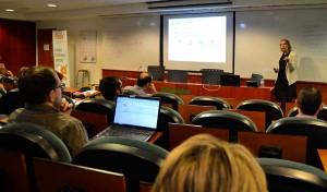 Magalí se centró en las campañas de Google AdWords para explicar cómo funciona la publicidad pagada en Internet.