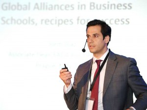 Jordi Diaz, EADA's Associate Dean of Programmes, gave a presentation titled 'Making Global Partnerships Work. Recipes for Success'