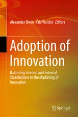 Eric's latest book is titled 'Adoption of Innovation. Balancing Internal and External Stakeholders in the Marketing of Innovation'.