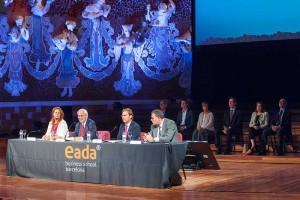 El presidente del Patronato de la Fundación EADA, David Parcerisas, insistió en el compromiso de la institución por inculcar en los futuros directivos los valores de igualdad, solidaridad, respeto por la diversidad y la sostenibilidad.