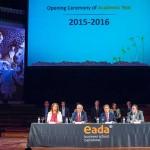Inauguración del año académico de EADA 2015-16
