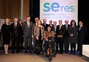 Imagen del jurado de los 'VI Premios Seres a la Innovación y Compromiso Social de la Empresa' en el que participó Giorgia Miotto en representación de EADA.