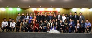 Fotografía de grupo de la Asociación de Estudiantes e Investigadores Chinos en Barcelona.