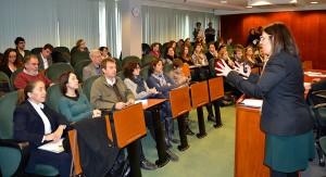 El año pasado la Dra. Elisabet Garriga presentó en EADA el informe sobre RSC 'El valor de compartir principios'