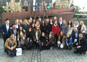Un total de 54 participantes del actual International Master in Marketing de EADA viajaron a Londres en octubre para asistir al Festival Of Marketing.