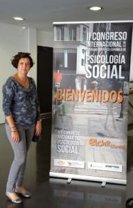 Carme Gil, directora del Programa de Desarrollo Directivo de EADA, habló de valores y coaching en el XII Congreso Nacional de Psicología Social, celebrado en Elche en octubre.