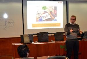 Miquel Roselló dio varias claves a los Alumni y profesionales del área de RR.HH para preparar adecuadamente una entrevista por competencias.