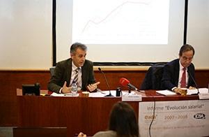 Según Costa, la recuperación salarial se debe a la inflación acumulada en los últimos años y a la evolución del PIB.