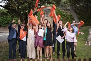imagen correspondiente a la reciente graduación de los participantes de los programas Executive Education, en el  Collbató Residential Training Campus .