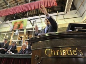 Picture from the Annual Wine Auction at the Hospices de Beaune (Photo taken by Alain Doire - Bourgogne Tourisme).