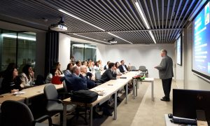 The international business consultant Leif Holmvall, on his visit in Europe, came to EADA to give an exclusive conference about the future of export and growth opportunities in international business.