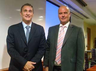 César Concepción (Novartis) y Juan Carlos Serra (EADA)