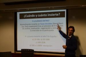 Manuel Matés en la ponencia que impartió en EADA
