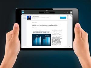 La información que hay en Linkedin sobre los centros que ofrecen MBA es determinante para los estudiantes interesados en realizarlo.