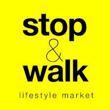 Logo de la desaparecida tienda online de moda y decoración Stop & Walk.