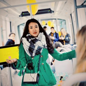 Elizabeth Lee, que cursa un Bilingual International MBA en EADA, fue una de las primeras seleccionadas en la edición de este año del Imagine Express.