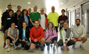 Fotografía de grupo de los participantes del MARD y de algunos de los entrenadores del CAR de Sant Cugat.