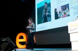 Xènia Alonso, directora creativa y Marketing manager del magazine online de tendencias Barcelonette, habló de la importancia de ofrecer valor en la red.