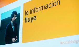 Uno de los momentos de la conferencia de Genís Roca, presidente cofundador de RocaSalvatella, tiulada 'La transformación digital, una cuestión de estrategia'.
