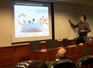 Pascual recomendó definir primero los objetivos de la web antes de iniciar el proceso de análisis.